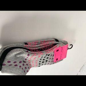 🆕 Betsey Johnson 6 pk Sock Set - Multicolored